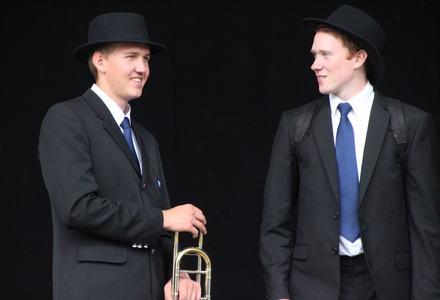Victor og Sven Ole i Gdansk