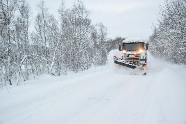 brøytebil foto: Saltenposten