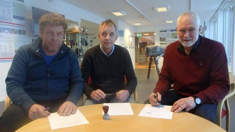 Partnerskapsavtale underskrives