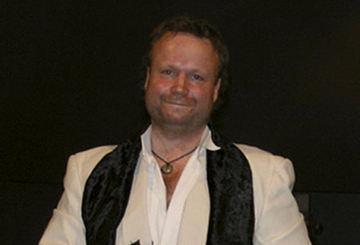 Richard på scenen