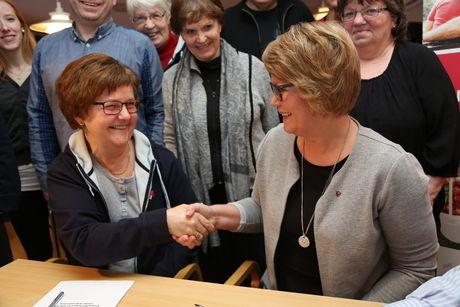 Demensforeningen partnerskapsavtale erna + siv anita