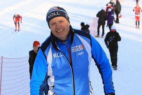 Øyvind Bånerud kan allerede melde om 800 påmeldte til Kollmila og har bare 600 ledige startnumre. Foto: Erik Borg