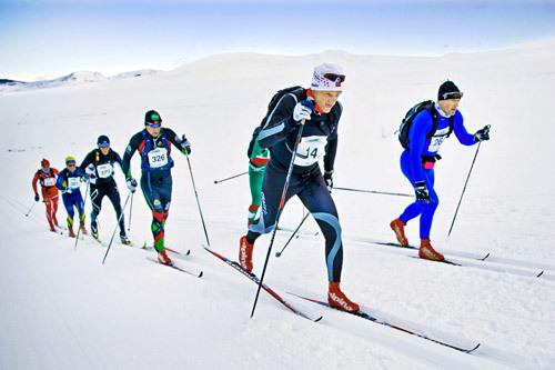 Illustrasjonsbilde fra Troll Ski Marathon. Foto: Geir Olsen.