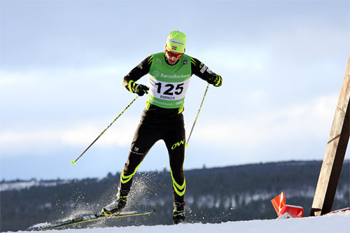Anders Tettli Rennemo. Foto: Geir Nilsen/Langrenn.com.