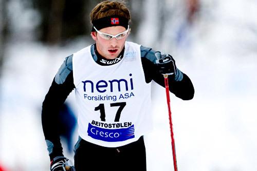 Henrik Olimb. Foto: Geir Olsen.