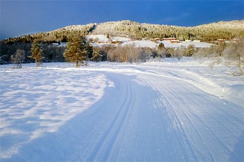 Slik ser det ut i løypene til Osmarkrunden i midten av februar 2015. Arrangørfoto.