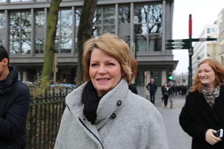 Siv Anita i Brüssel
