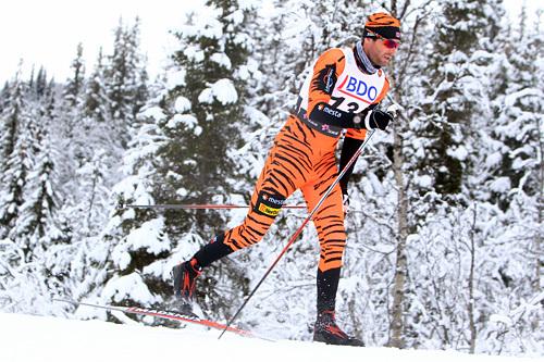 Thomas Alsgaard på15 kilometer klassisk under den nasjonale sesongåpningen på Beitostølen 2014. Foto: Erik Borg.