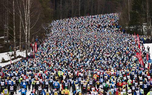 Vasaloppet. Foto: Felgenhauer/NordicFocus.