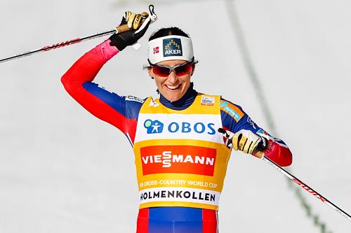 Marit Bjørgen. Foto: Laiho/NordicFocus.