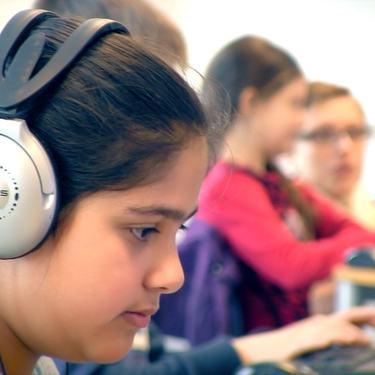 Elever bruker IKT i undervisningen