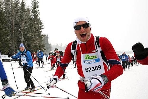 Morten Aa Djupvik underveis i FredagsBirken 2015. Foto: Birken AS.