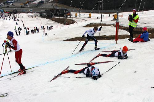 Fra Bakkesprinten et tidligere år. Foto: Bærums Skiklub.