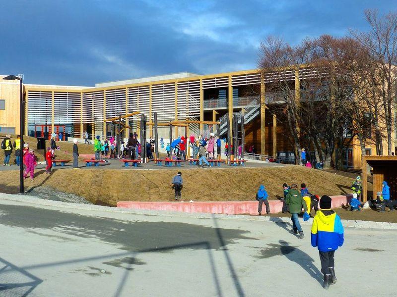 Trebyggeri Åsveien skole
