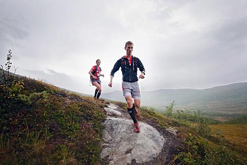 Fra en tidligere utgave av Hardangervidda Marathon. Arrangørfoto.