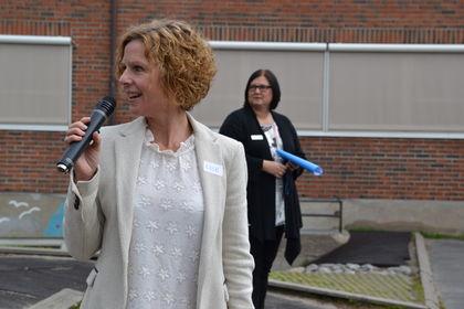 Rektor Lise Mikkelsen Melløs skole