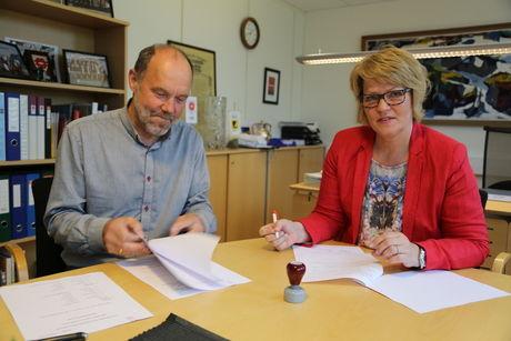 ordfører signering finneid skole