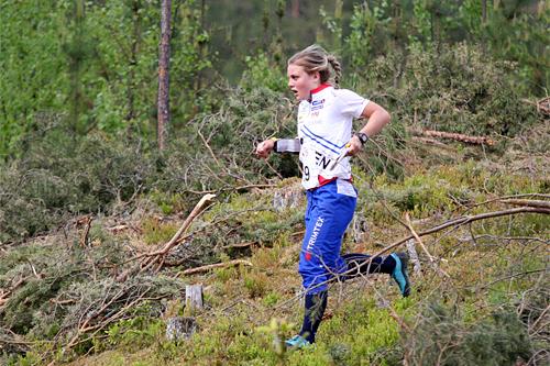 Ida Marie Næss Bjørgul. Foto: Geir Nilsen/Langrenn.com.