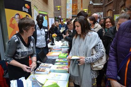 FUGs stand på Østlandsk lærerstevne