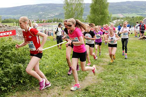 Et av feltene i UngdomsBirken. Foto: Geir Olsen/Birken.