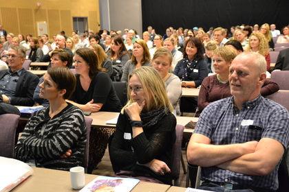 Foreldre fra konferansen 2014
