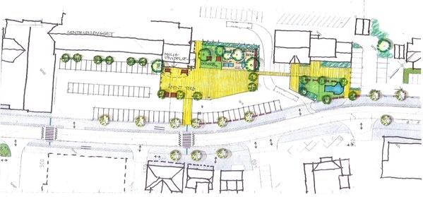 Tegning av torget i Evje sentrum_600x279.jpg