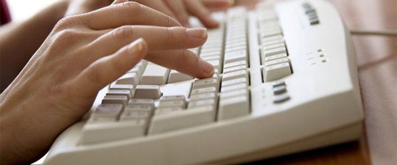 Kontakt oss tastatur