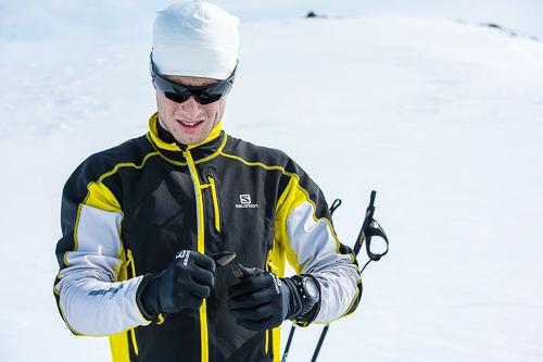 Petter Soleng Skinstad på Sognefjellet. Foto: Vegard Breie.