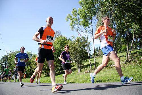 Illustrasjonsbilde fra Ringeriksmaraton. Foto: Geir Nilsen/Langrenn.com.
