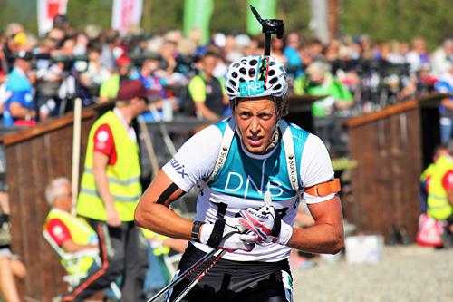 Lars Helge Birkeland. Foto: Norges Skiskytterforbund.