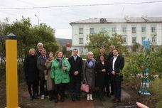 Delegasjonsbesøk i Nikel september 2015