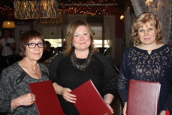 Anu Avaskari ordfører i Inari kommune Cecilie Hansen ordfører i Sør-Varanger kommune og Irina Neverova ordfører i Petsjenga kommune_350x233.jpg