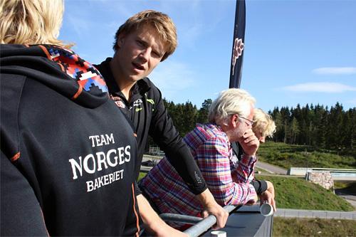 Vetle Sjåstad Christiansen går ut av landslaget og inn på det private Team Norgesbakeriet. Foto: Tore Nyborg.