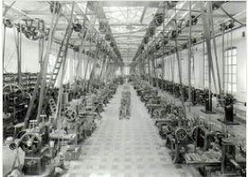 gammelt bilde fra et verksted