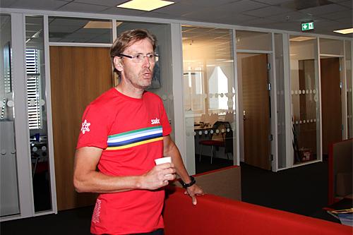 Ulf Bjerknes. Foto: Geir Nilsen/Langrenn.com.