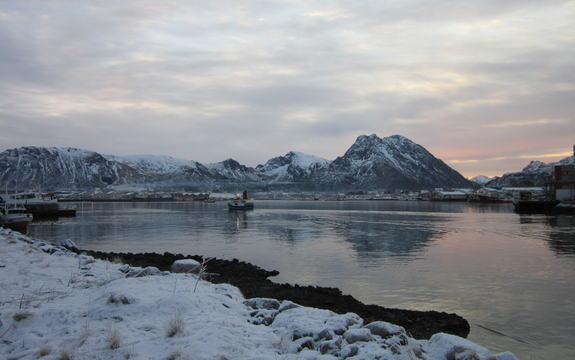Vinter-Myre-havn