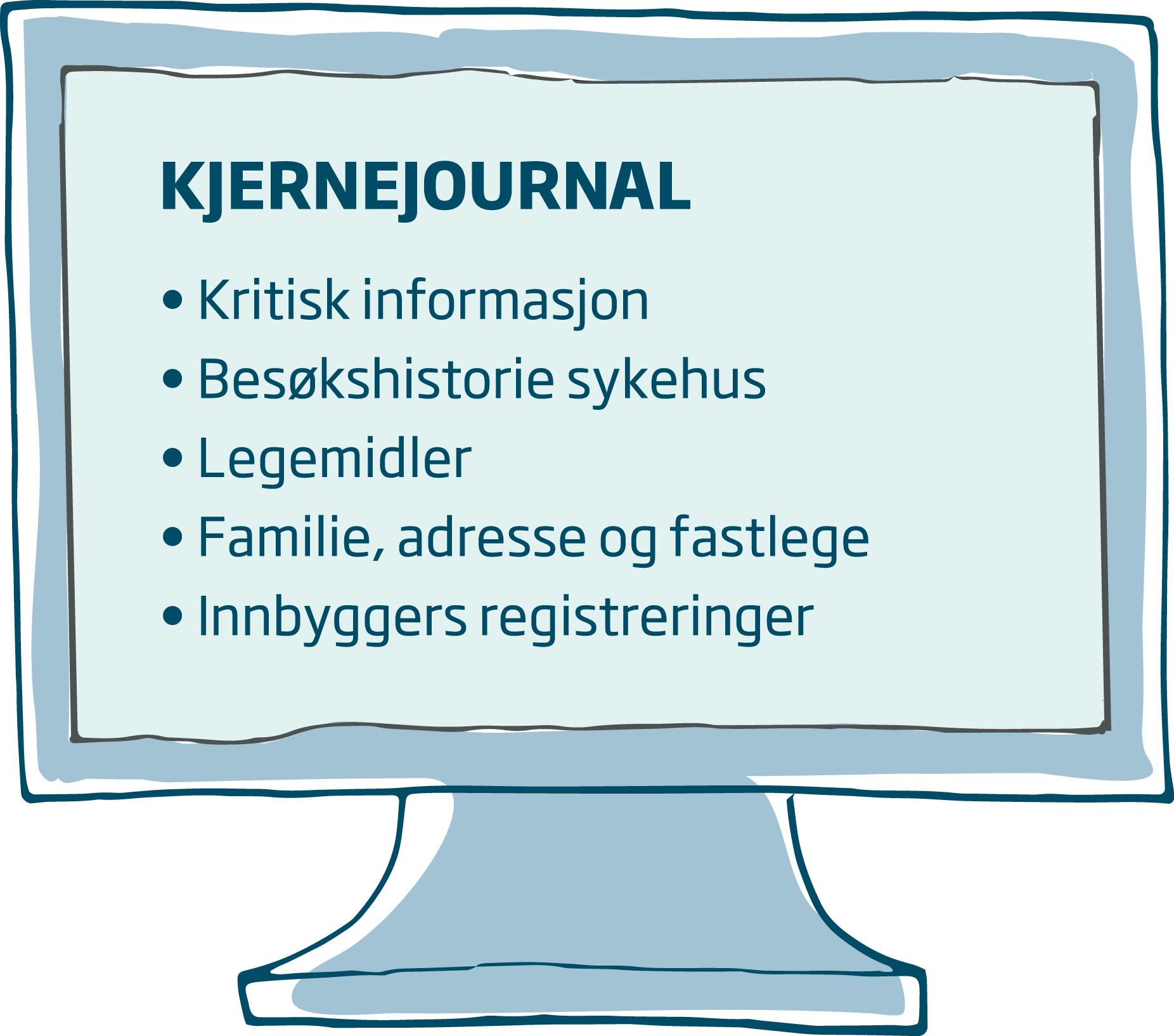 Innholdet i kjernejournal - skjermen.png