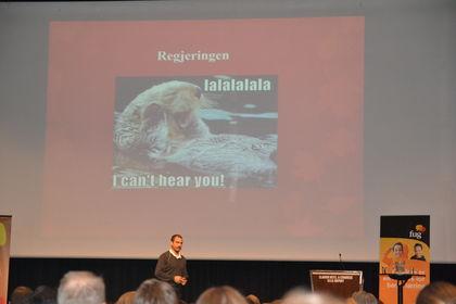 Hadi Strømmen Lile på Foreldrekonferansen 2015