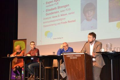 Paneldebatt Foreldrekonferansen 2015