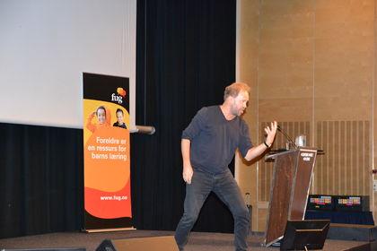 Øystein Wiik Foreldrekonferansen 2015