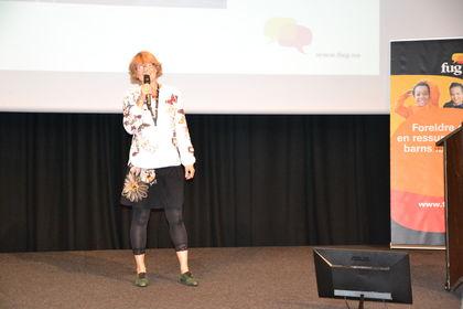 Elisabeth Strengen Gundersen på Foreldrekonferansen 2015