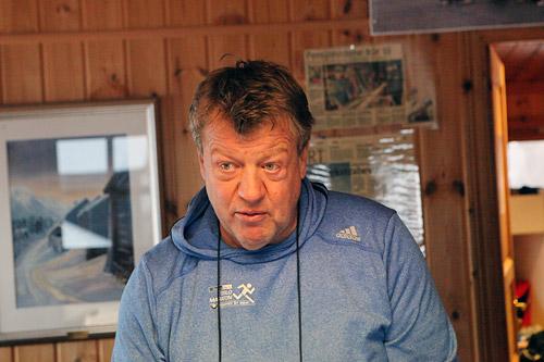 Erik Østli fastslår at de neste dagers mildvær ikke vil påvirke sesongåpningen nevneverdig. Foto: Erik Borg.