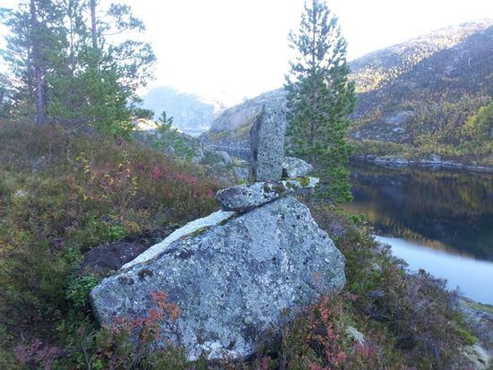 Varden på det høgste punktet på Langkilveien Foto Kåre Raymond Nilssen  (2)