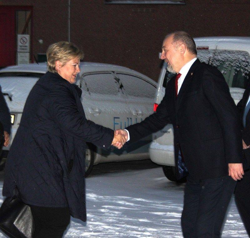 Statsminister på besøk i Sør-Varanger