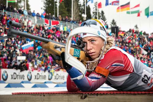 Tiril Eckhoff. Foto: Norges Skiskytterforbund.