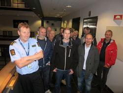Lund brannvesen hos Politiets Operasjonssentral