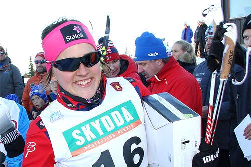 Barbro Kvåle. Foto: Geir Nilsen/Langrenn.com.