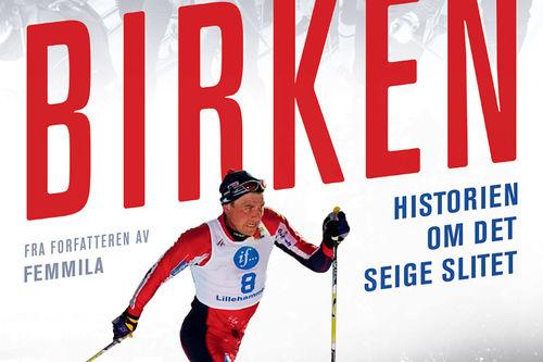 Deler av forsiden til boka Birken av Thor Gotaas på Gyldendal. Omslag: Gyldendal Norsk Forlag.