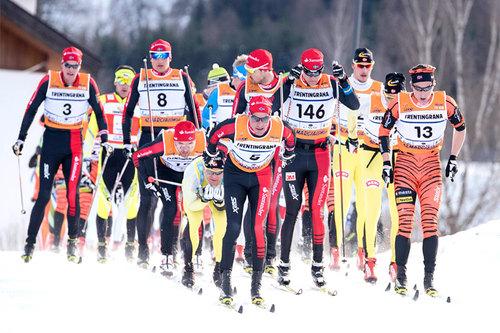 Teten i langløpet Marcialonga en tidligere vinter. Foto: Östh/NordicFocus.