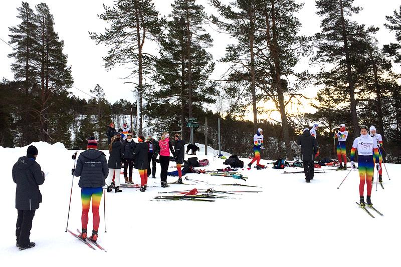 Hovden Skigymnas inviterer til rekrutteringssamling 31. januar til 2. februar i 2016. Foto: Hovden Skigymnas.